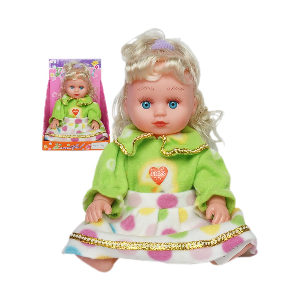 12 inch cute baby plastic toys japanese dolls