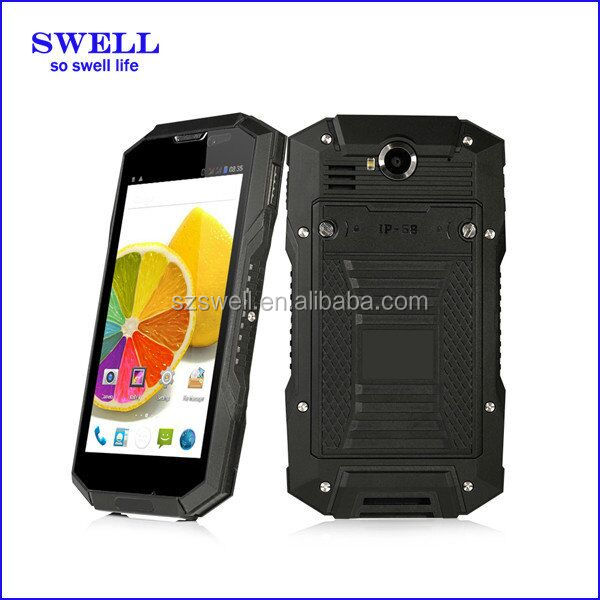 5.inch qhd ips lcd capacitive multi touch screen / Waterproof Dustproof Shockproof Rugged Phone from Swell: NFC Function V4