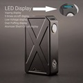 Chinese supplier hot selling products 240 watt box mod tesla invader 3