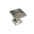Width 21mm furniture hardware BSN Square knob handle for drawer and cabinet
