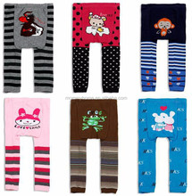 Wholesale animal pattern knit baby busha pp pants M5033003