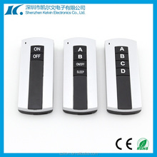 New style best seller 4 button Universal RF wireless remote control KL280 serise