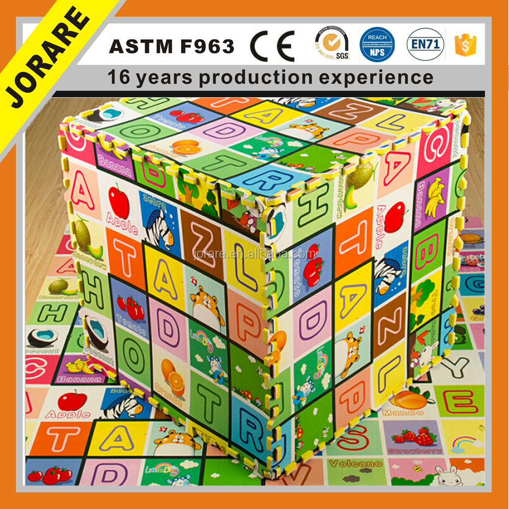 Soft EVA Foam Children Kids Alphabet Number Jigsaw Puzzle Play Mat