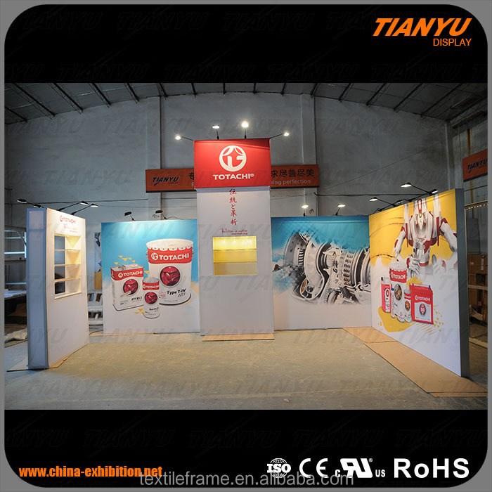 China Customized size exhibition booth material