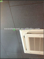 fiber cement board for indoor partion with dark grey