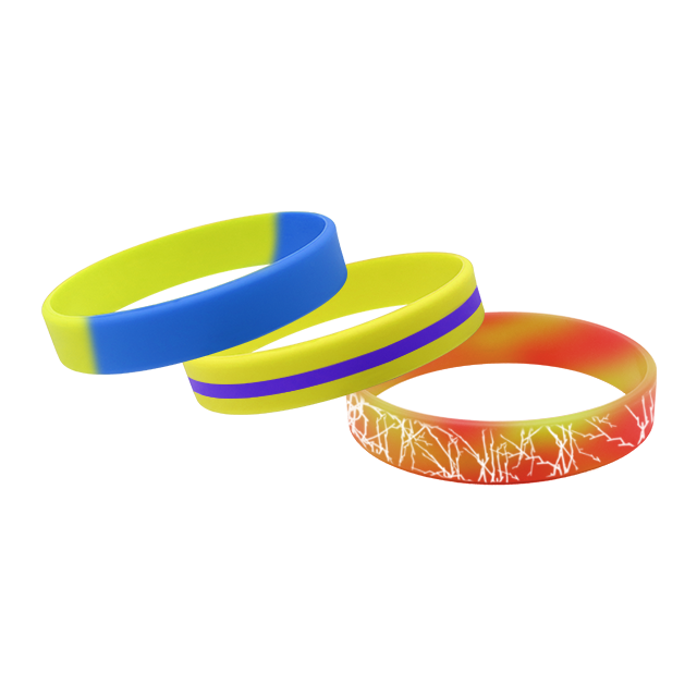 New Arrival Silicone Bracelet With Letter Rubber Bracelet/for Promotion