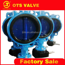 BV-LY-0226 tianjin ots worm actuated flowserve valves