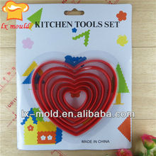 multi layers heart shape Cookie Cutter
