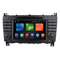 Winmark Android 8.0 Octa Core 7 Inch Specila Car Radio DVD GPS Player Stereo For Mercedes-Benz C-Class W203 2004-2007