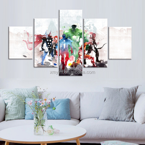 5 pcs HD Figures movie poster scenery tree view canvas wall art painting art Home Decor Canvas In the living room Art Print seas