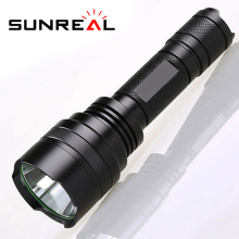 Hot Sale Customized power rechargeable flashlight ultra bright aluminium 5 led mini linterna solar
