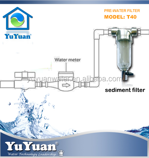 Taiwan sediment filter cartridge Agents water filter system