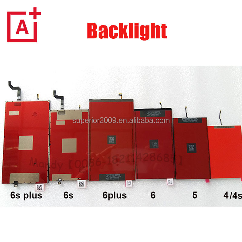 Factory Price Repair Parts For Apple iphone 4 4s 5 5s 5c 6 6s 6plus 6splus LCD Backlight Film Wholesale Back light