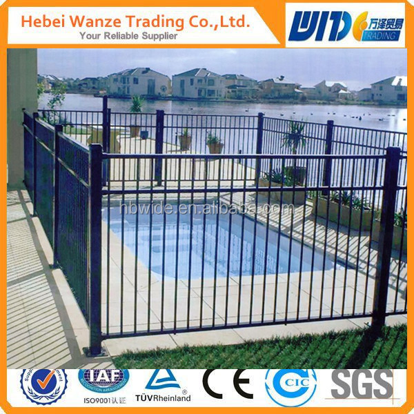 high quality iron pool fence/iron fencing/hot sale iron pool fencing for Europe
