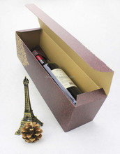 FSC & BSCI Factory Folding Wine Packaging Boxes
