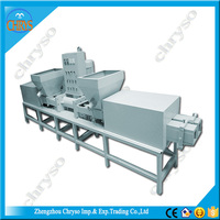 CE certificate high productivity wood hydraulic sawdust press machine, pallet block production line