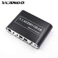Analog Audio Gear Optical SPDIF/ Coaxial to 5.1 Digital Sound Decoder Converter