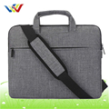 Light grey cotton laptop bags wholesale in 14inch for men