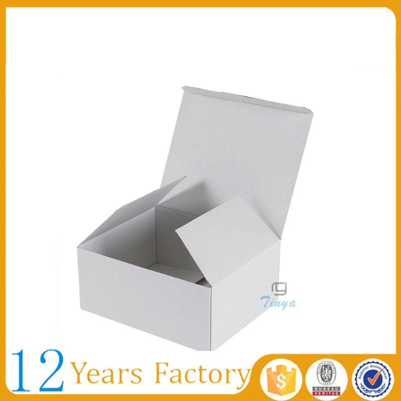 white kraft packaging waxed cardboard boxes