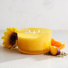 wedding decoration luxury design scented soy wax 3 cotton wick jar candles