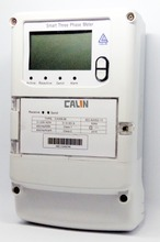 Interoperable AMR AMI Wireless Electricity Meter , Electricity Prepayment Meter
