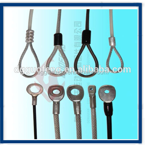 Hot Selling Quick Connect Wire Rope Terminal/Wire Terminal Clip / Ringing Eye <strong>Fittings</strong>