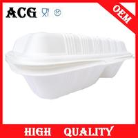 Food baking long plastic tray for fast food