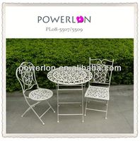 Wrought iron sheesham wood furniture