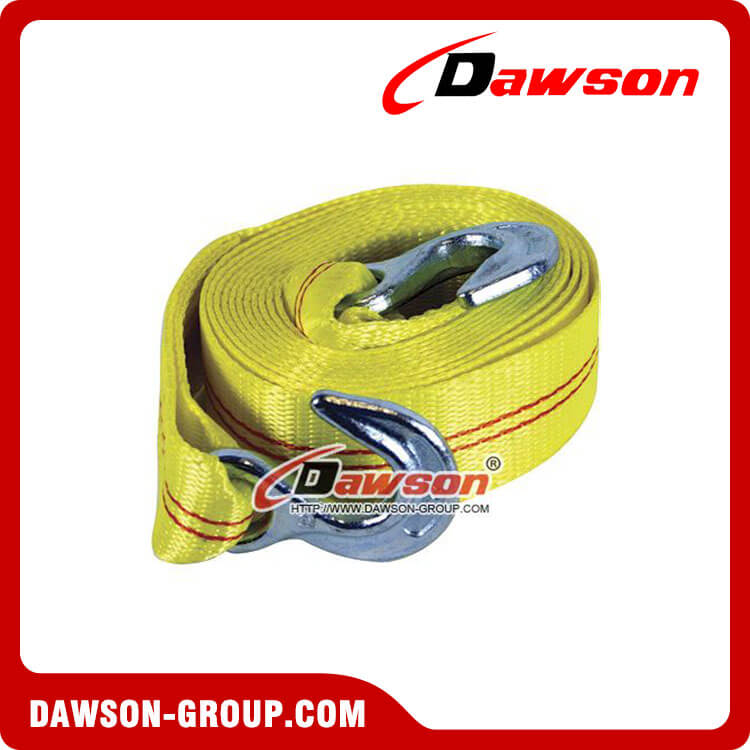 Heavy Duty Webbing Towing Strap, Emergency Round Tow Lashing