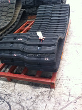 Dimensions 420x100x52 for O&K excavator RH 1.45 rubber track, rubber track 420*100 for mini excavator