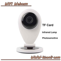 Infrared Onvif 720p HD Wireless WiFi Network IP Home Security Camera