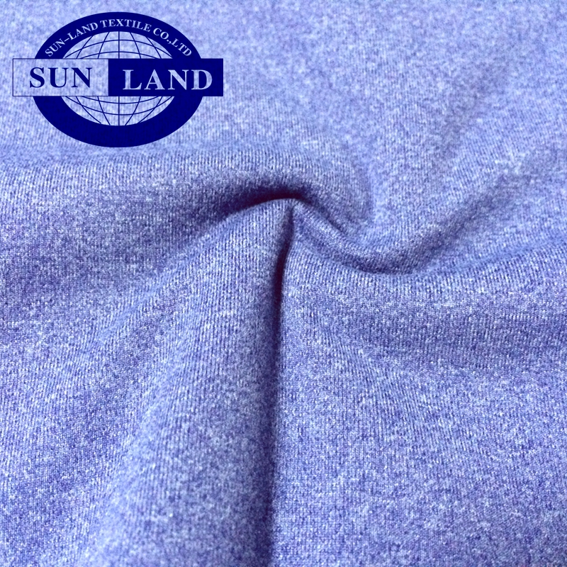 knit interlock 98 polyester 2 carbon anti static fabric for electronics suit