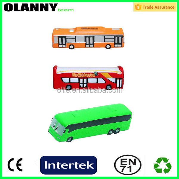 factory mini children professional portable scale model pu bus toy