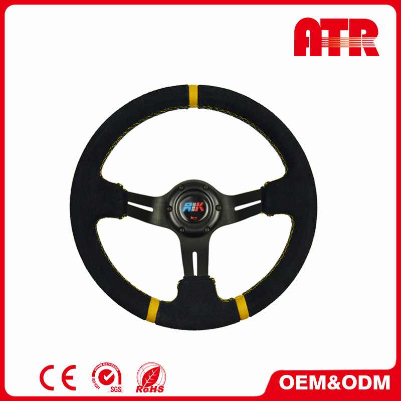 Multifunction quick release universal classic deep steering wheel
