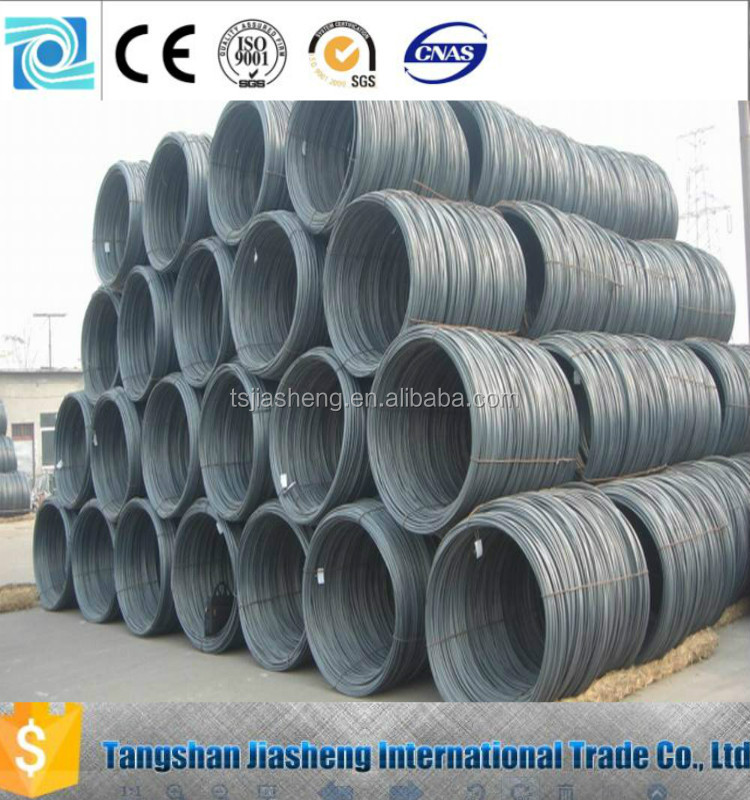 sae 1006 low carbon wire rod / coils steel wire rod sae 1008 / wire rods china manufacturer