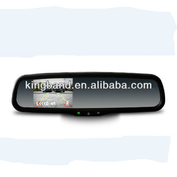 special rearview mirror car monitor with aftermarket parking sensors