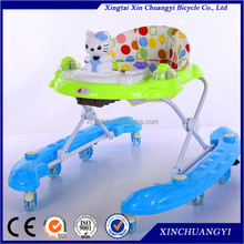 Plastic rotating baby walker toys/cheap rolling baby walker wholesale