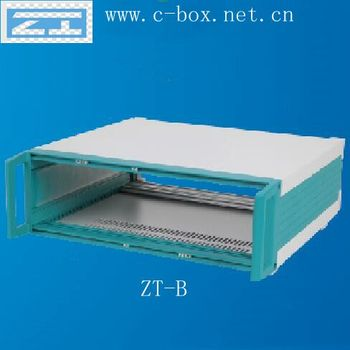 "ZT-B 2U 19"" rack-mount chassis on Desktop for industrial control, communications, electronics, test systems, network box"