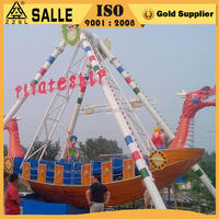 China supplier amusement park ride real pirate ships outdoor park games for sale