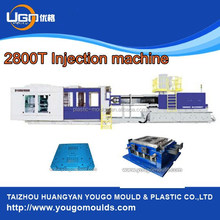 plastic pallet making machine 2800T plastic injection moulding machine