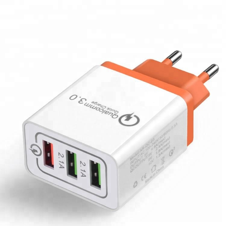 Multi Port Charging Usb Wall Charger Qc3.0 Wall charger For Iphone And For Ipad