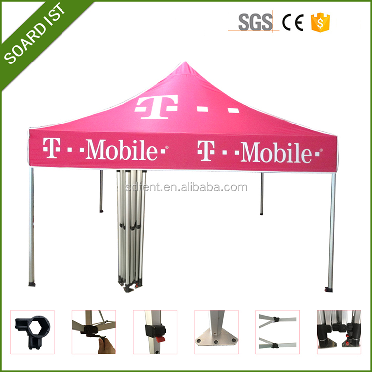 10x10 custom printing folding tent, dye sublimation print tent