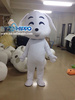 White dog mascot costume costume for sale for kids