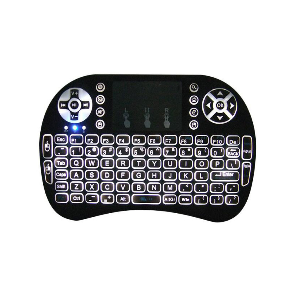 2018 Trending Product Mini Wireless Keyboard With Touchpad For Smart TV, Mobile Phone, BOX