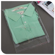 Transparent PP plastic bag for garment packaging