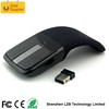 2.4G 1000DPI Foldable Arc Shape Silicone Slim Optical USB Computer Mouse Wireless