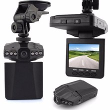 "2.5"" LCD Screen 6 LED Night Vision Vehicle Car Detector camera Recorder 120 Degree Wide View Angle HD Car DVR"