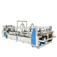 automatic corrugated paperboard folder gluer machine/cardboard folding gluing machine/carton box packaging equipment