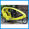 Three Wheels Electric Taxi Bike Passenger Tricycle with Cabin