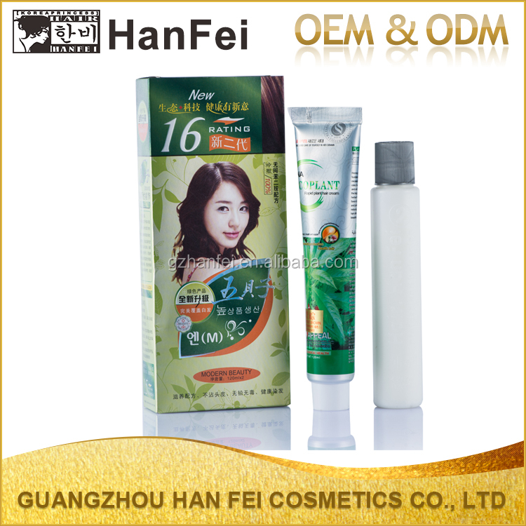 Professional factory no allergy black hair coloring no ppd no ammonia bigen hair dye